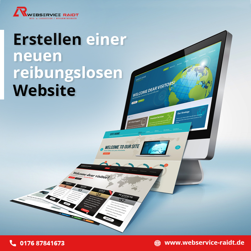 neue Website erstellen