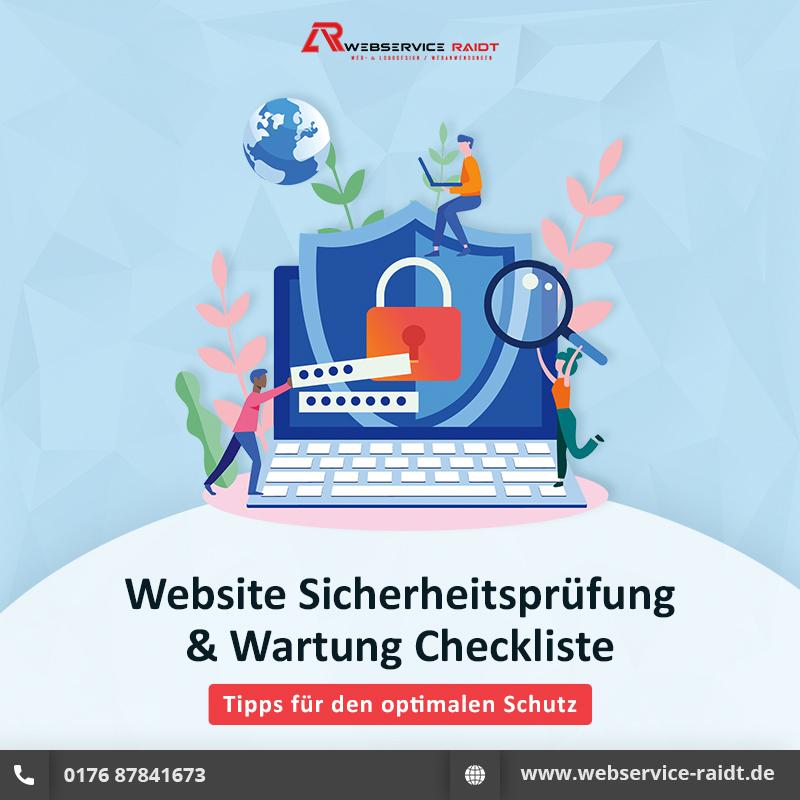 Website-Wartungsdienst